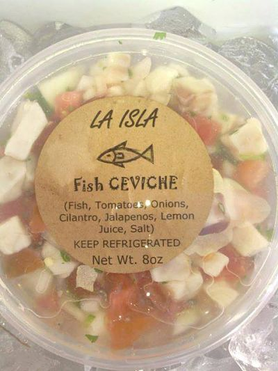 La Isla Fish Ceviche