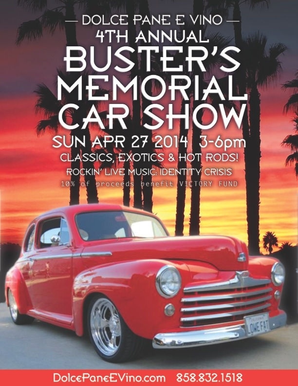 BUSTERS FLYER 2014