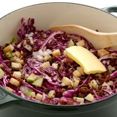 RSFFM Braised Apples and Purple Cabbage