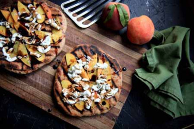 RSFFM Grilled Goat cheese Pizza