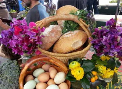 RSFFM Managers sweet peas bread basket