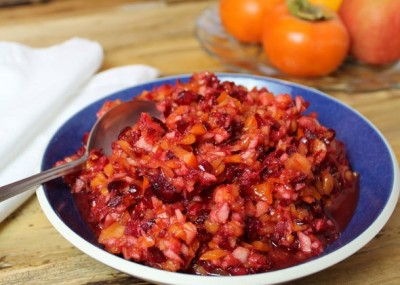 RSFFM Pommegranate Cranberry Relish