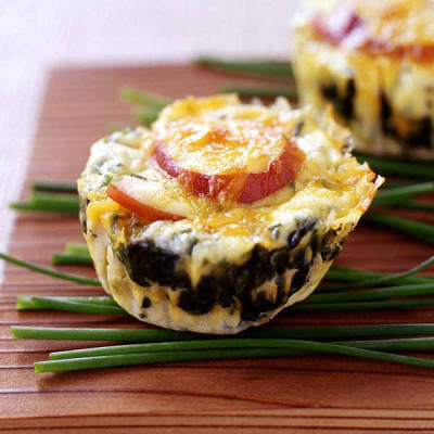 RSFFM spinach and egg breakfast stack